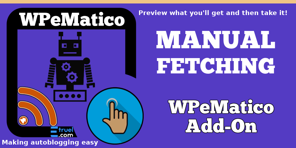 wpematico manual fetching