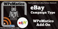 WPeMatico Ebay Campaign Type
