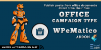 WPeMatico Office Campaign Type