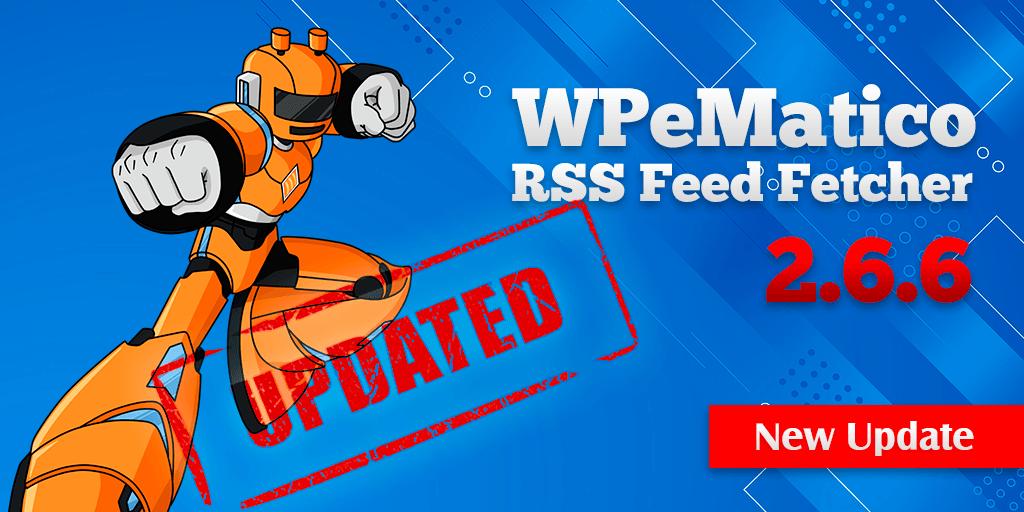 New WPeMatico Release