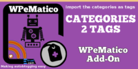 WPeMatico cats2tags