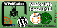 WPeMatico Make me Feed Full