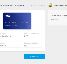 Mercado Pago Credit Card form
