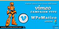 WPeMatico Vimeo Campaign Type