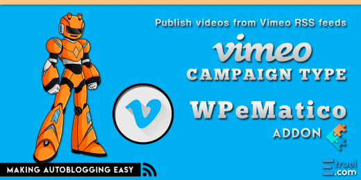 WPeMatico Vimeo Banner